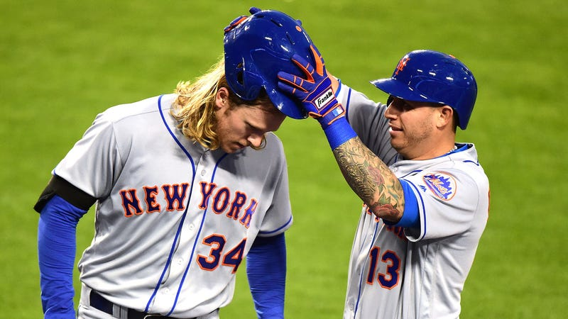 Noah Syndergaard, Clearly Inspired By Bartolo Colon, Slapped A Pair Of Dingers (UPDATE: He ...