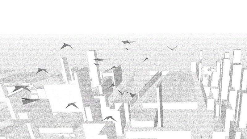 Illustration for article titled Watch A Virtual City Be Built Before Your Very Eyes