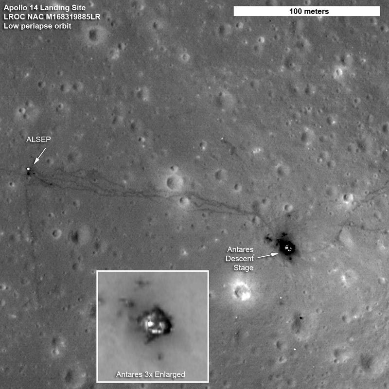 New Moon Landing Sites Photos Are So Sharp They Show Detailed