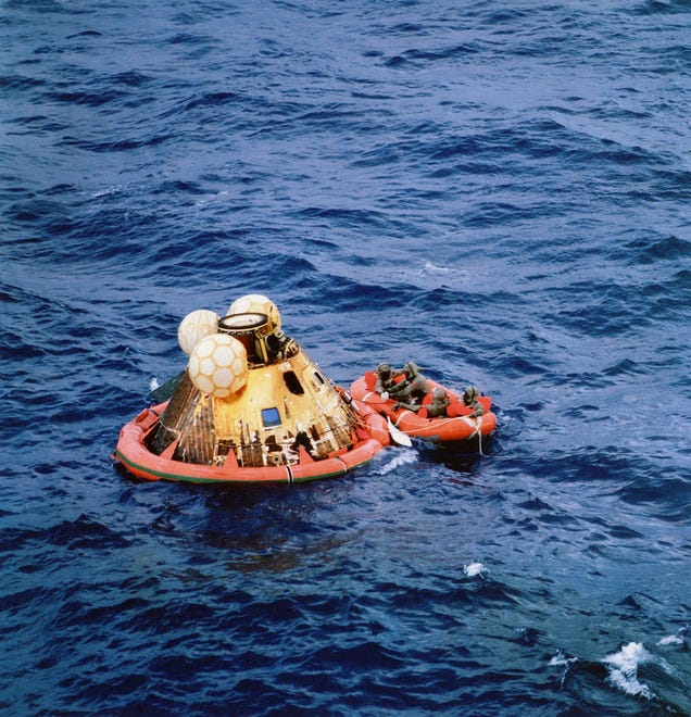Rare photos reveal fascinating views of the Apollo 11 moon ...
