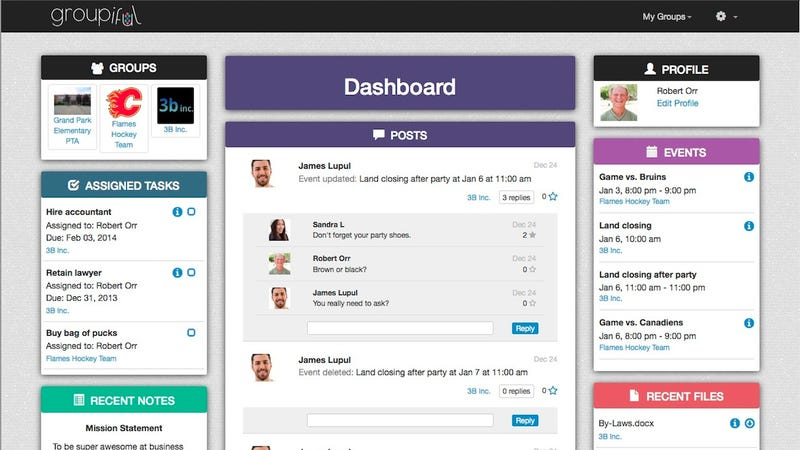 Groupiful Is a To-Do App Ideal for Organizing Small Teams or Families