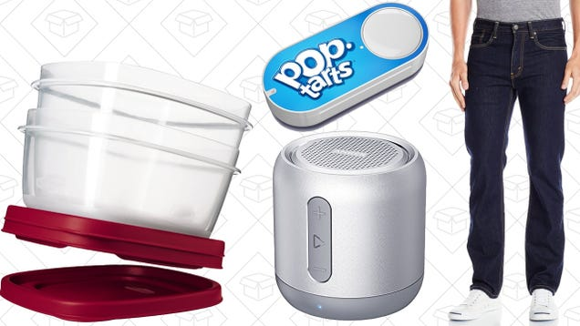 Today's Best Deals: Jeans, Dash Buttons, Anker Speaker, and More