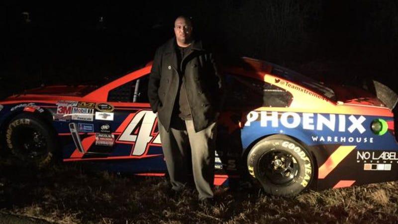 Illustration for article titled Stolen NASCAR Race Car Found In Suburban Atlanta