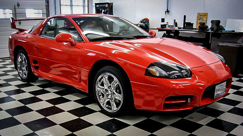 how much is this museum-quality mitsubishi 3000gt vr4 really worth?