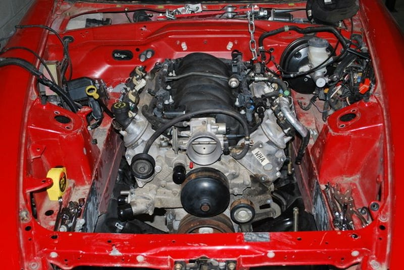 V8Powered Honda S2000 Again Proves GM LS Engines Can Fit Any Car