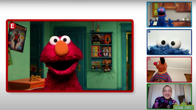 Check Out Elmo s Pandemic  Playdate  Special