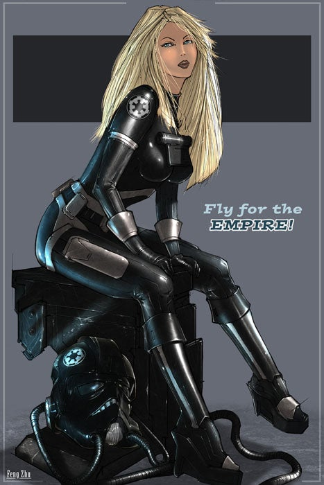 Sexy Recruitment Posters For The Empire
