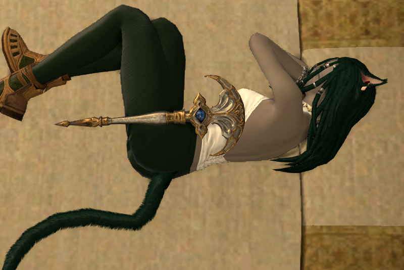 The Final Fantasy XIV Emote That's Pretty Much For Cybersex
