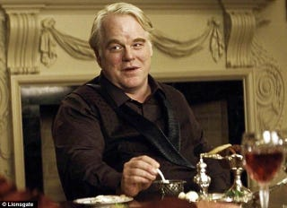 Illustration for article titled Phillip Seymour Hoffman will be digital in his final Hunger Games scene