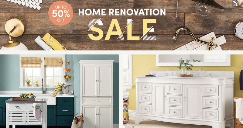 Shop Wayfair's Home Renovation Sale and Get Up to 50% Off Select Styles