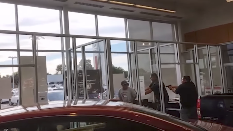 Bounty Hunters, Fugitive Dead After Massive Shootout At Texas Car Dealership
