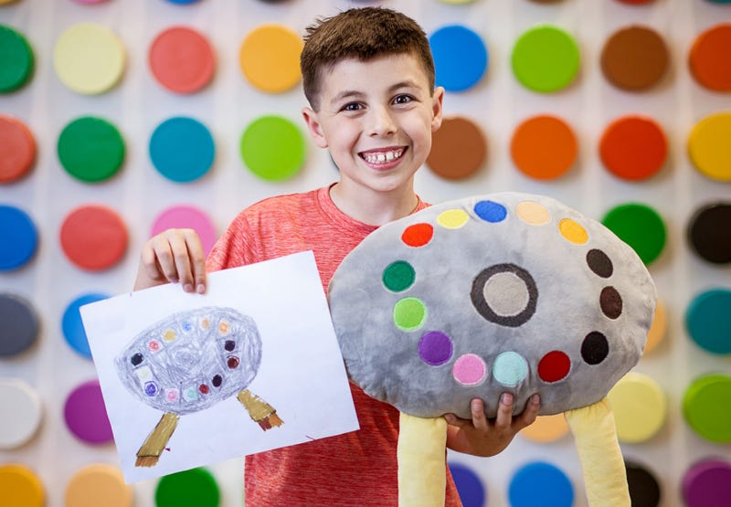 Illustration for article titled Crayola Will Turn Your Kid's Bad Drawings Into Better Plush Toys