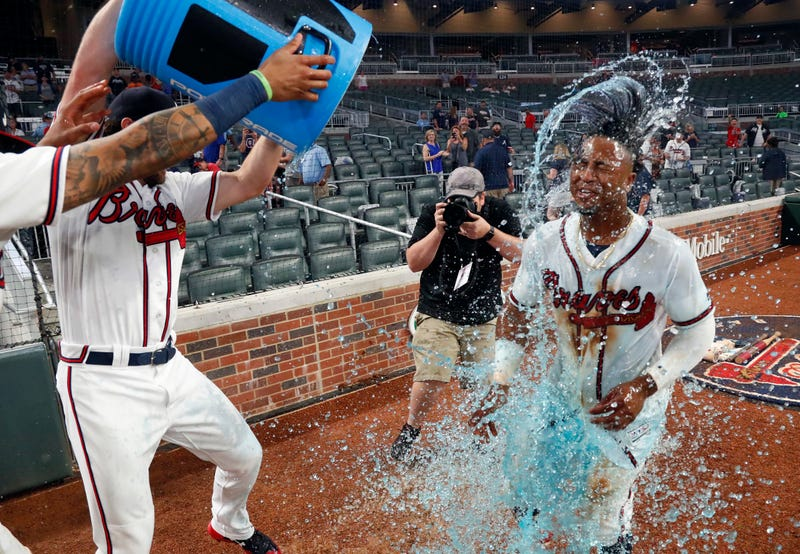 Illustration for article titled Ozzie Albies Called His Walk-Off Homer