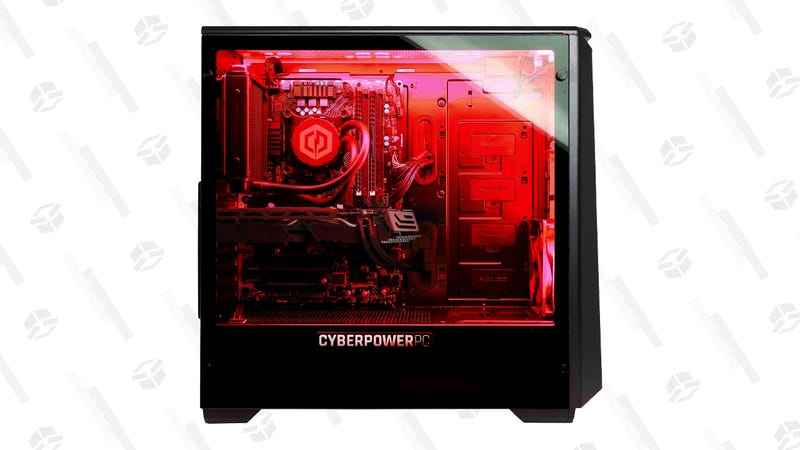 CyberPowerPC Gaming Tower with AMD Ryzen 7 2700X and Radeon RX 590 8GB | $1,050 | Walmart