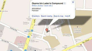 Illustration for article titled This Was Osama's Hideout on Google Maps