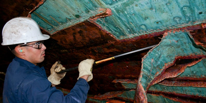 Illustration for article titled Restoring a Ship's Hull Still Looks Like Something From Centuries Past