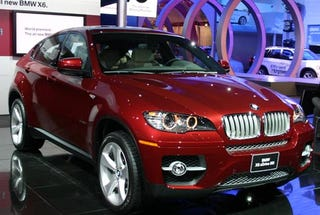 Illustration for article titled Detroit Auto Show: BMW X6 for Production Revealed