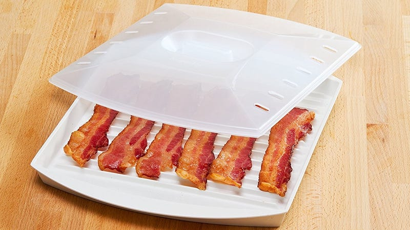 Prep Solutions Microwave Bacon Grill, $10