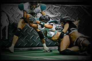 Illustration for article titled Lingerie Football League May Exploit Lockout To Seduce The Lord's Day