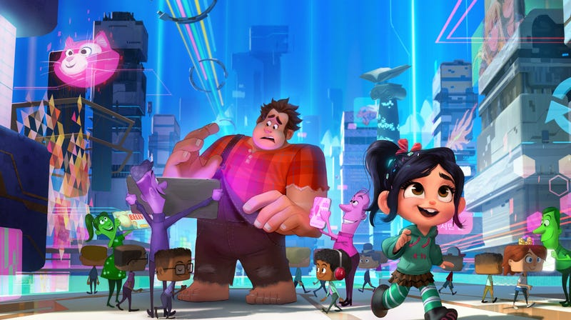 Illustration for article titled Weekend Box Office: Ralph Breaks The Internet came out on top again
