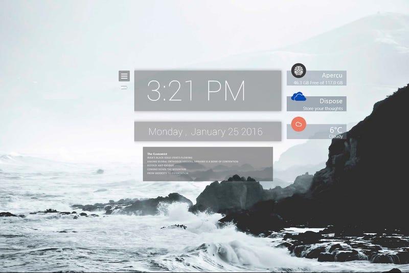 Illustration for article titled The Crashing Waves Desktop
