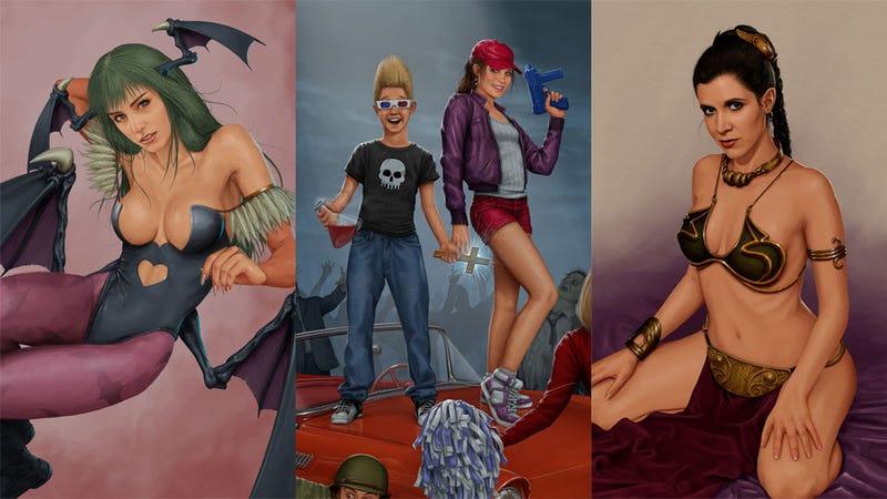 Illustration for article titled The Amazing Nerd Art of Andrew Jones