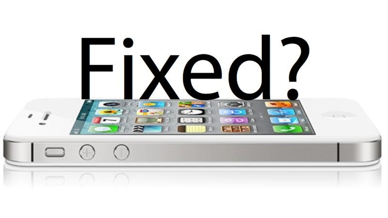 apple fixed the antenna problem for the iphone 4s hopefully
