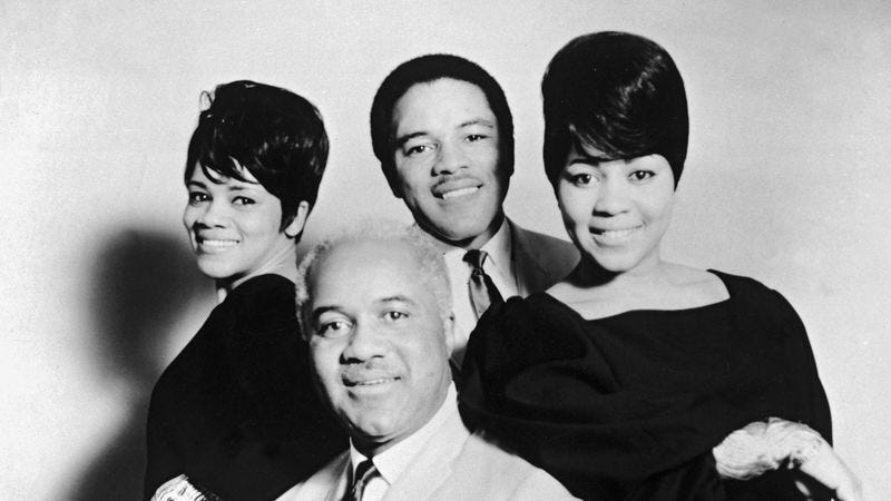 Illustration for article titled The Staple Singers put their own harmonious stamp on Talking Heads