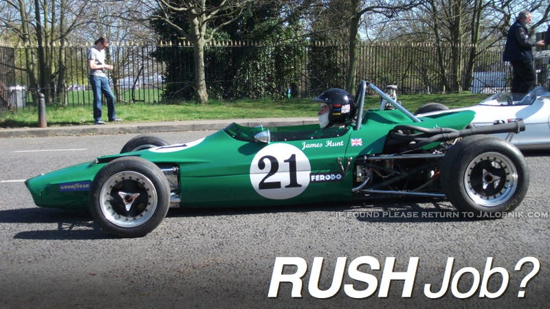 Illustration for article titled Is Ron Howard's Rush Taking Artistic Liberties With Racing History?