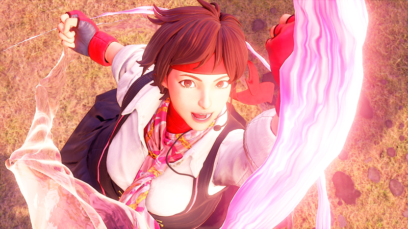 Screenshot: Street Fighter V/Capcom