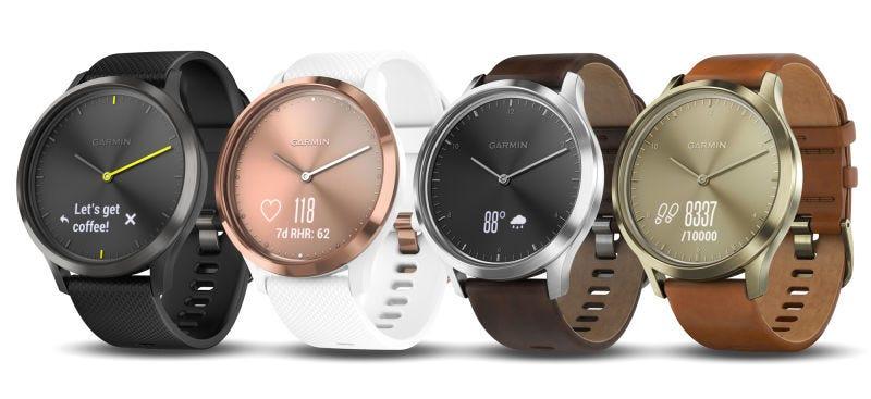 Illustration for article titled Este elegante reloj analógico esconde el smartwatch deportivo más avanzado de Garmin