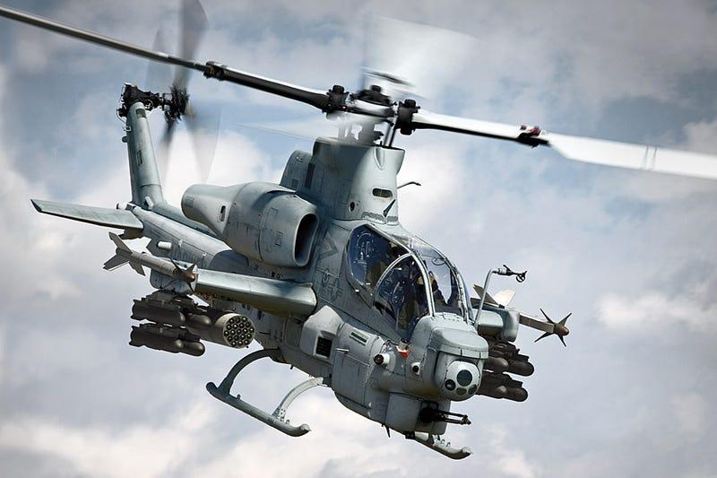 Illustration for article titled Bell AH-1Z Viper