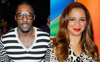 Nominees Idris Elba and Maya Rudolph(Joe Kohen/Getty Images; Jemal Countess/Getty Images)