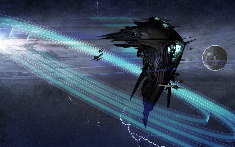 Illustration for article titled When Space Opera Becomes Art