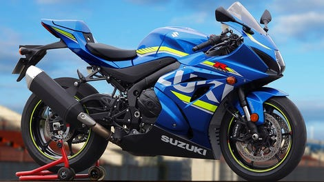 Get Your Hands On An Early Suzuki GSX-R While You Still Can