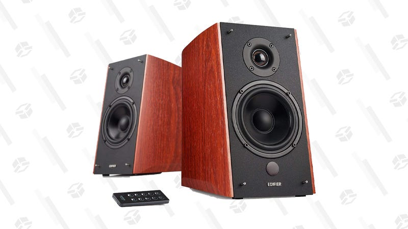 Edifier R2000DB Bookshelf Speaker (Black or Wood Finish)   $200   Amazon