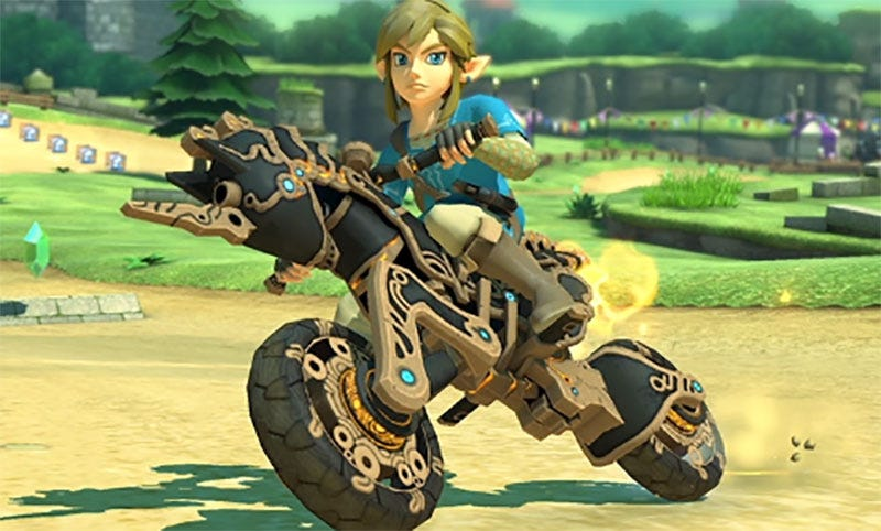 Mario Kart 8 Deluxe The Legend of Zelda: Breath of the Wild Update