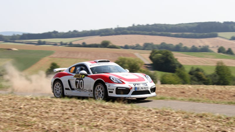 Illustration for article titled Making a Cayman Into a Rally Car Is the Best Thing Porsche Has Done in Years