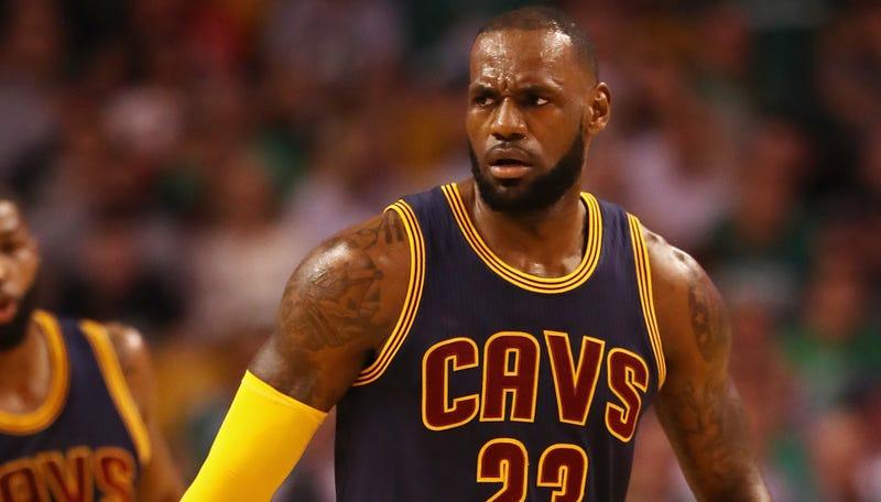James scores 38 as Cavaliers roll over Celtics