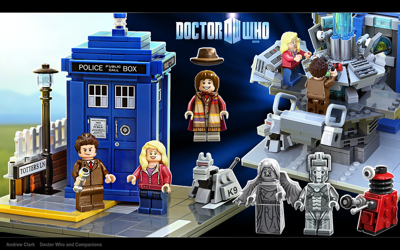 Illustration for article titled Is the time of the Lego Doctor now?