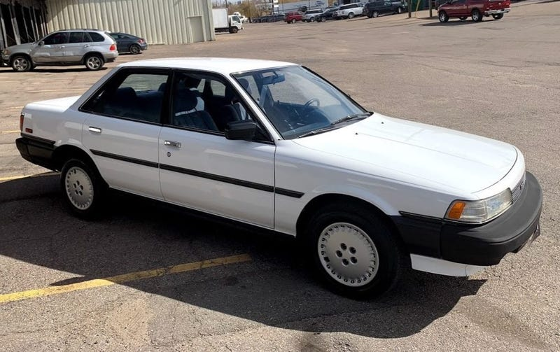 I Don T Know How This 1987 Toyota Camry Only Has 39 000 Miles But