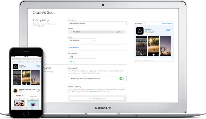 Illustration for article titled Apple comienza a mostrar anuncios al hacer búsquedas de aplicaciones en la app store