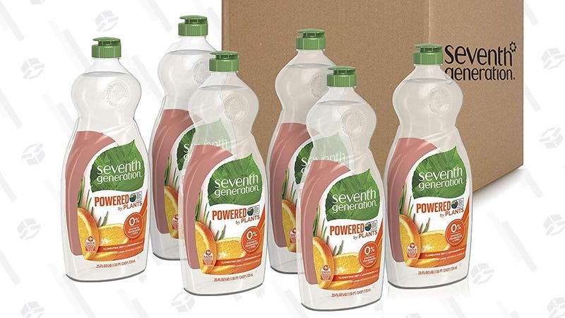 Seventh Generation 6-Pack 25 oz. Dish Soap | $14 | Amazon | Clip the 30% coupon