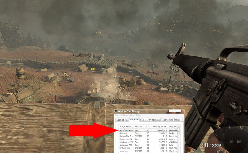 """Illustration for article titled Black Ops On PC Suffering From Mysterious """"Lag"""" [UPDATE]"""
