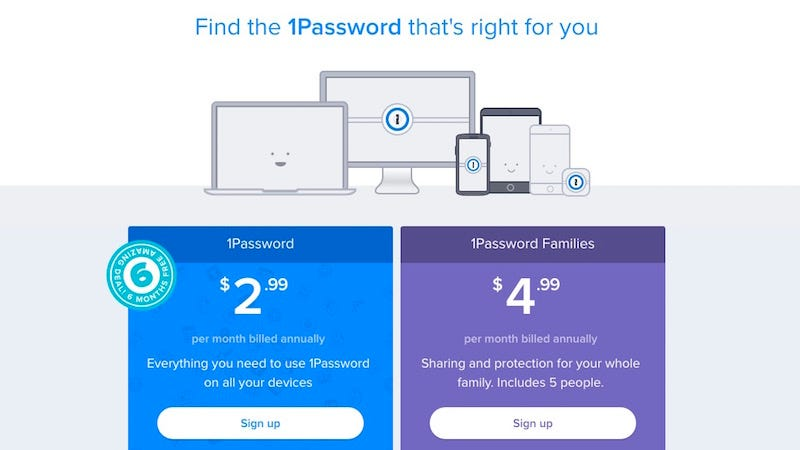 Illustration for article titled 1Password Launches Subscription Plans for $3 Per Month