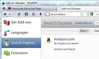 Illustration for article titled Firefox's New Add-Ons Manager Looks Great, Adds Search Plug-In Management