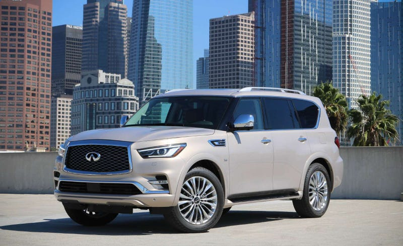 Illustration for article titled The Infiniti QX80 looks less like a beluga whale now