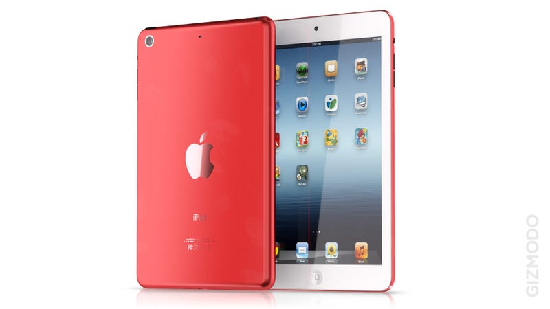 Illustration for article titled The More I Look at It, the More I Want a Color iPad Mini