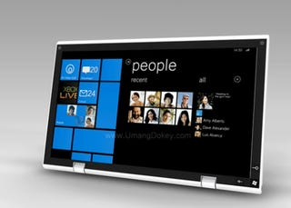 Illustration for article titled Windows Phone 7 Tablet Concept Should Be Real