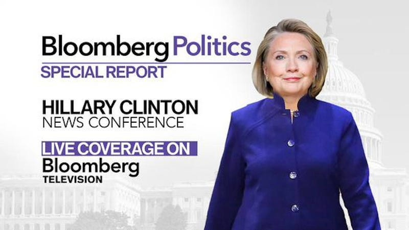 Illustration for article titled Hillary Clinton Loses Body in Tragic Bloomberg Photoshopping Incident [Update]